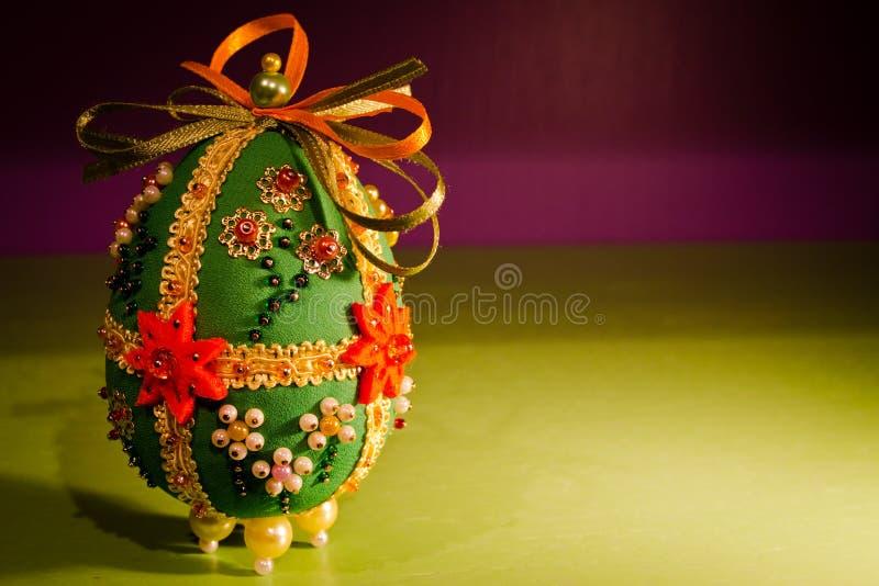 easter sukienny jajko obrazy stock
