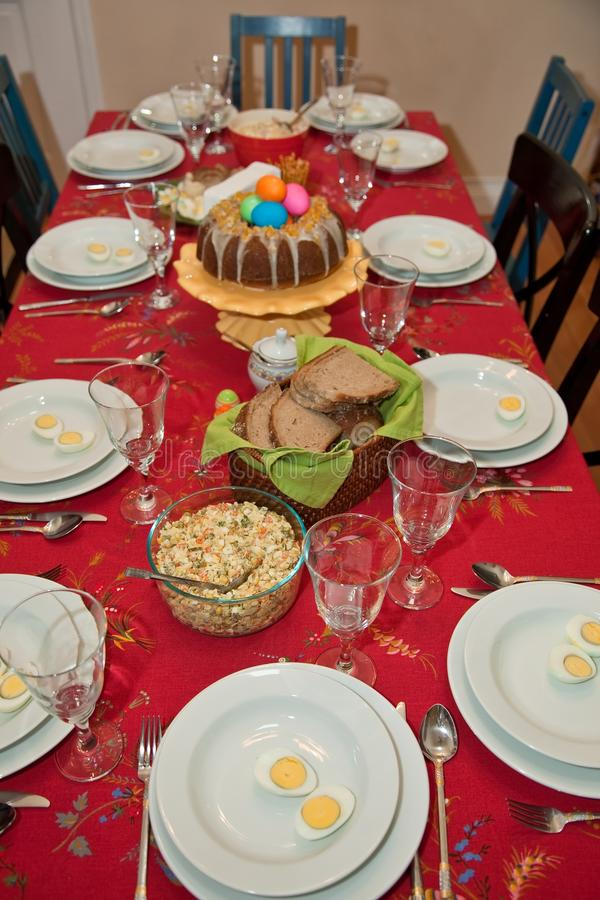 Download Easter Sunday stock photo. Image of party, covered, bread - 14833058