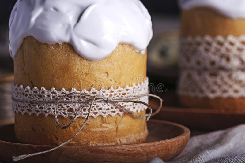 Baking for the spring holiday of Easter stock photography