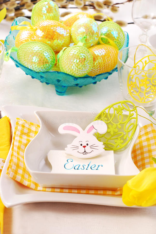 Free Easter Table Stock Image - 13408031