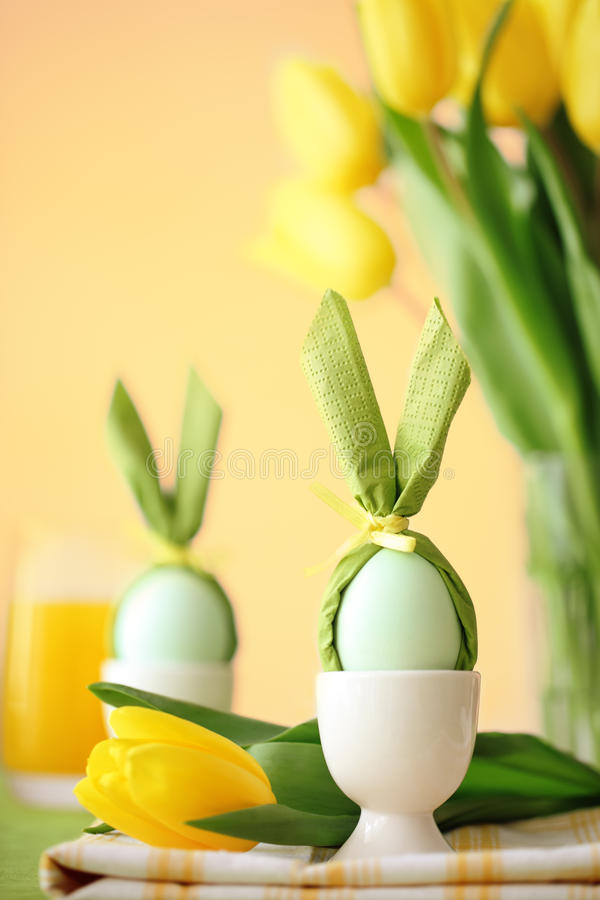 Easter Table Stock Photos