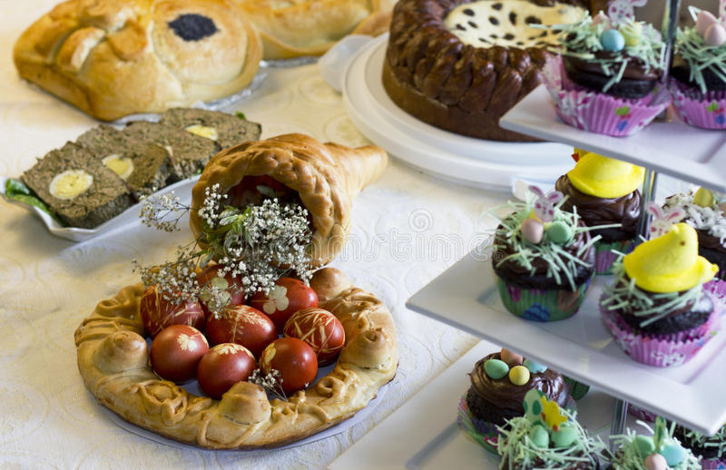 Download Easter Table Stock Image - Image: 24347851
