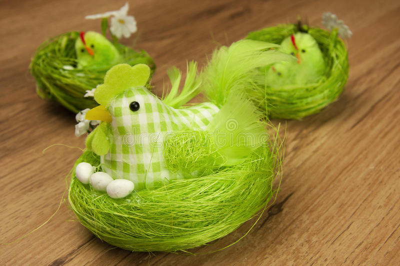 Download Easter Table Decoration With Chicken Stock Image - Image: 29626557
