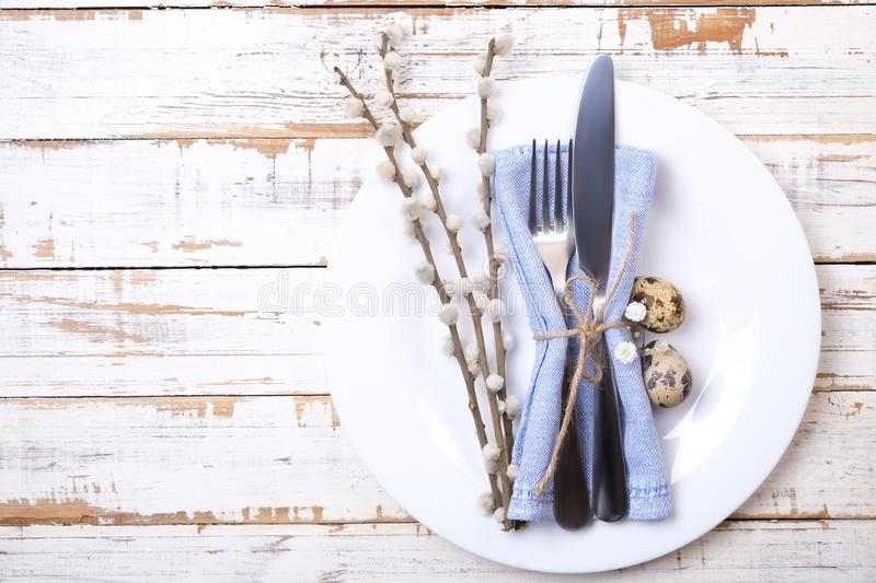 Easter Laying Table Appointments, Table Setting Options. Silverware ...