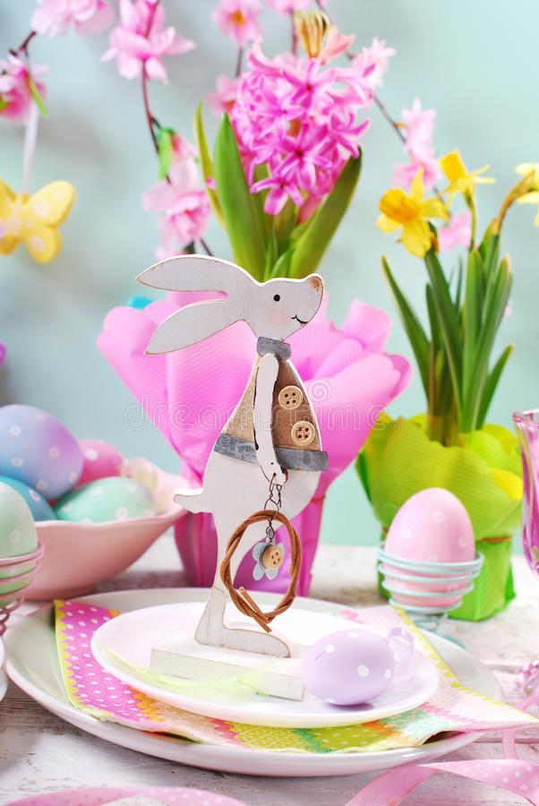 Download Easter Table Setting For Kids In Pastel Colors Stock Photo - Image of baby  sc 1 st  Dreamstime.com & Easter Table Setting For Kids In Pastel Colors Stock Photo - Image ...