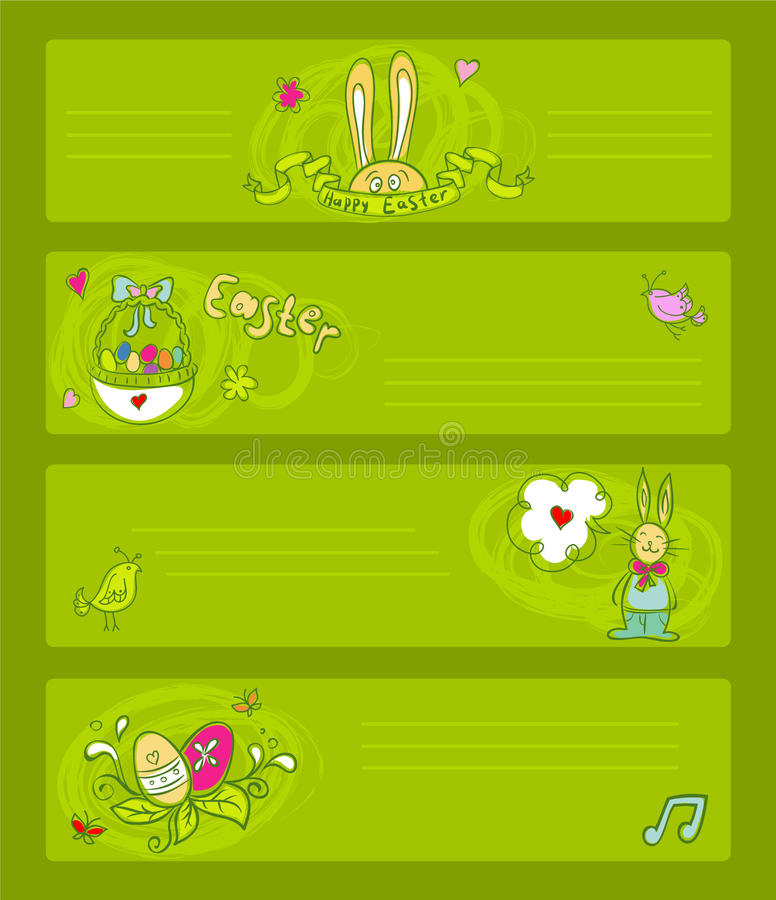 Download Easter Templates Royalty Free Stock Photography - Image: 23197857