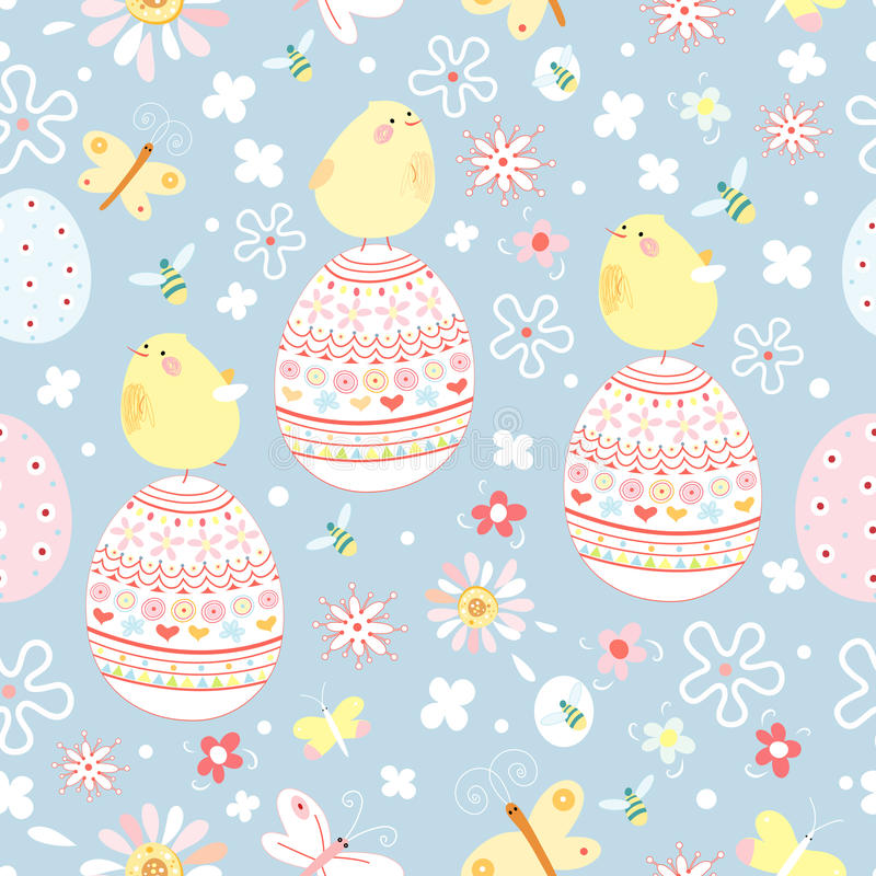Easter texture royalty free illustration