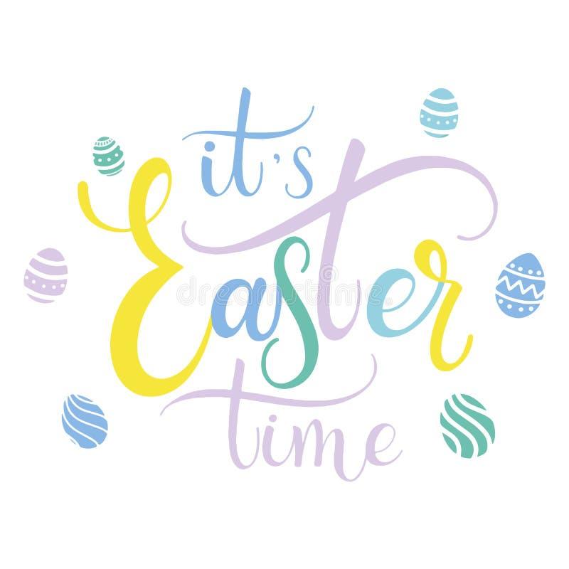 Easter time colorful lettering stock vector illustration of design download easter time colorful lettering stock vector illustration of design eggs 112045304 m4hsunfo