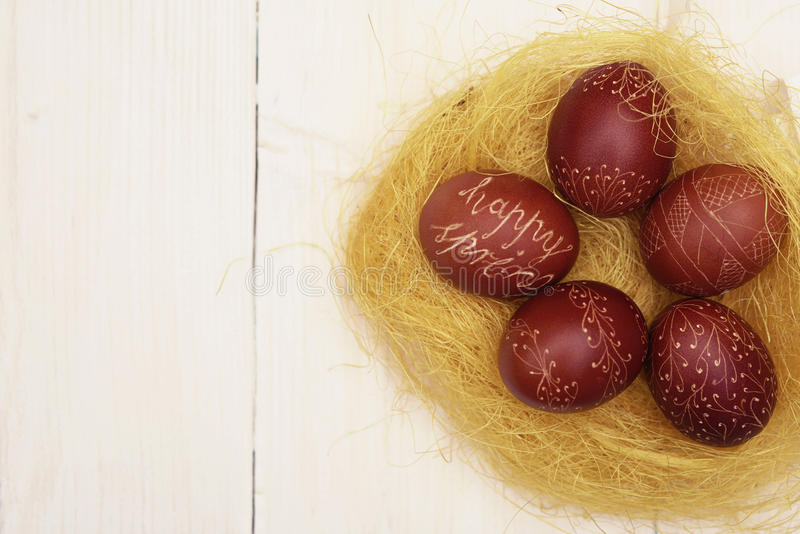 Easter time is coming stock image