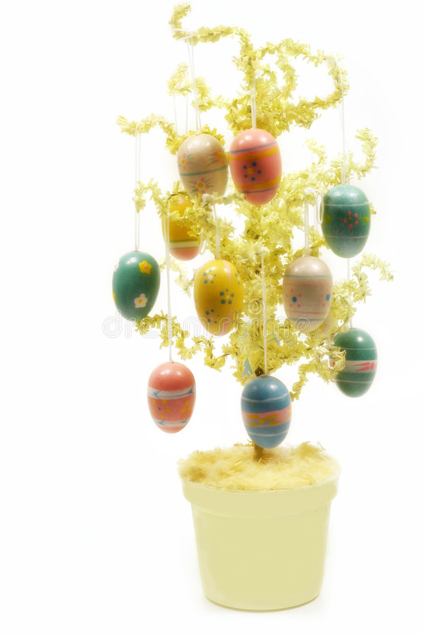 Download Easter Tree stock image. Image of festive, tree, decorated - 2196647