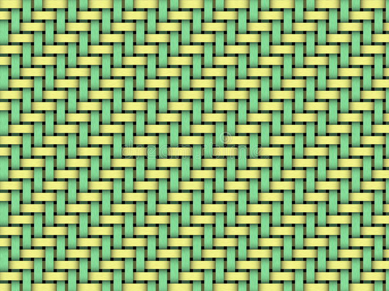 Easter weave royalty free illustration