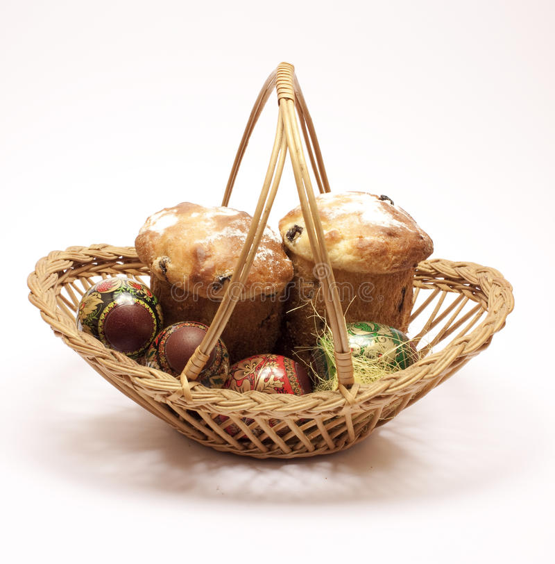 Free Easter Wicker Royalty Free Stock Image - 17953976