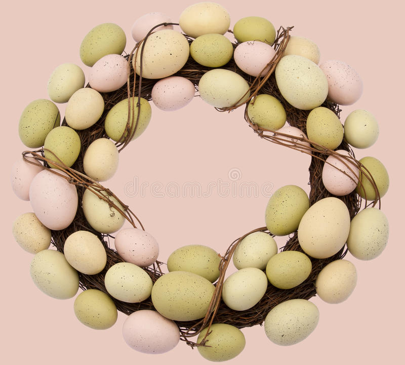 Easter Wreath Stock Image