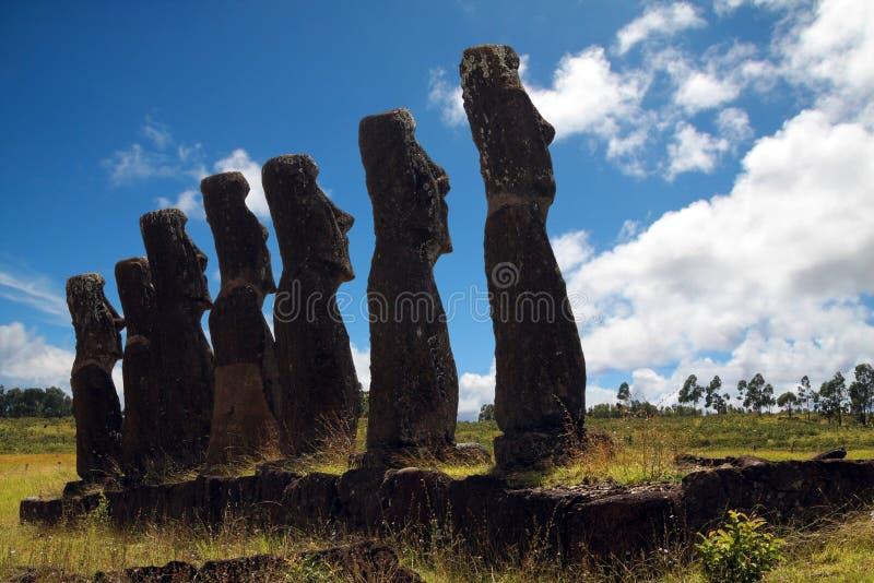 Easter Wyspa Zdjęcie Stock