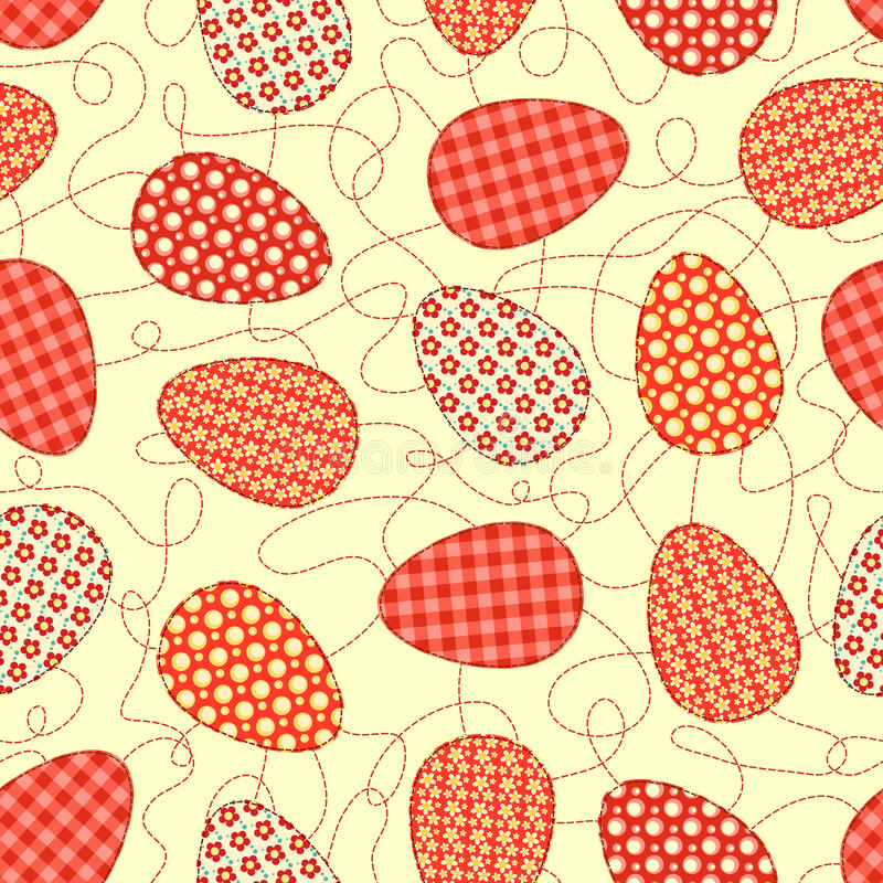 Download Easter Yellow Seamless Pattern. Stock Images - Image: 29524614