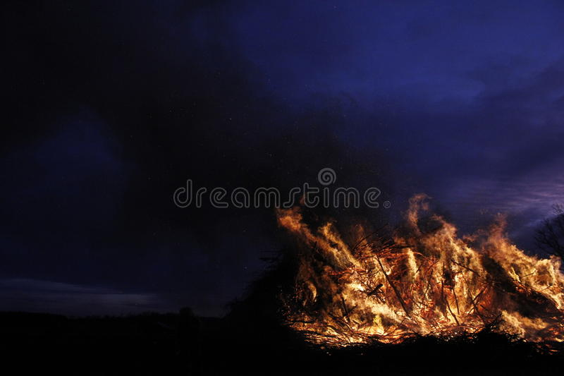 Easterfire royalty free stock images