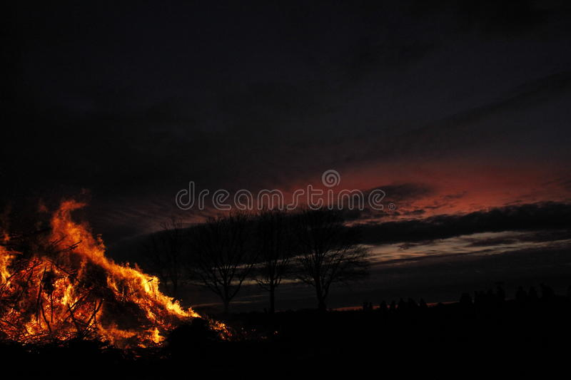 Easterfire stock images