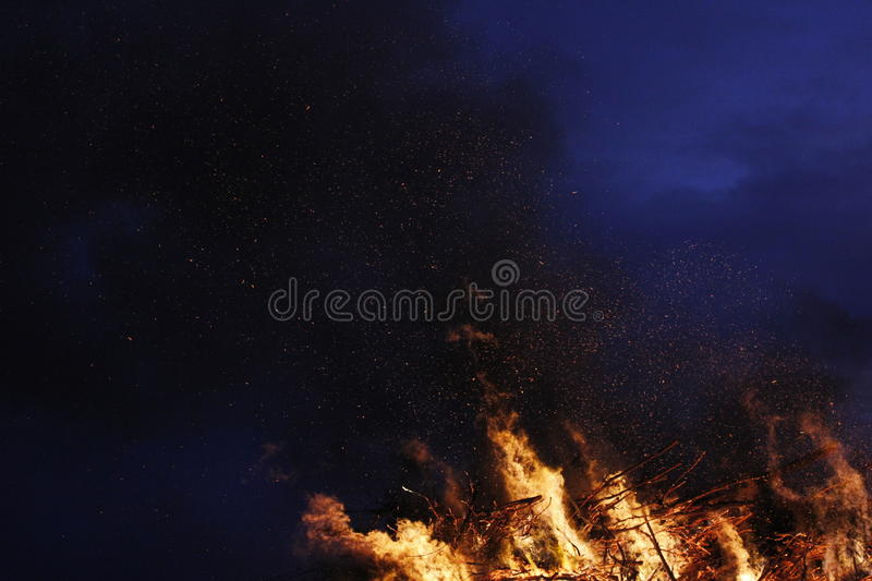 Easterfire royalty free stock photos