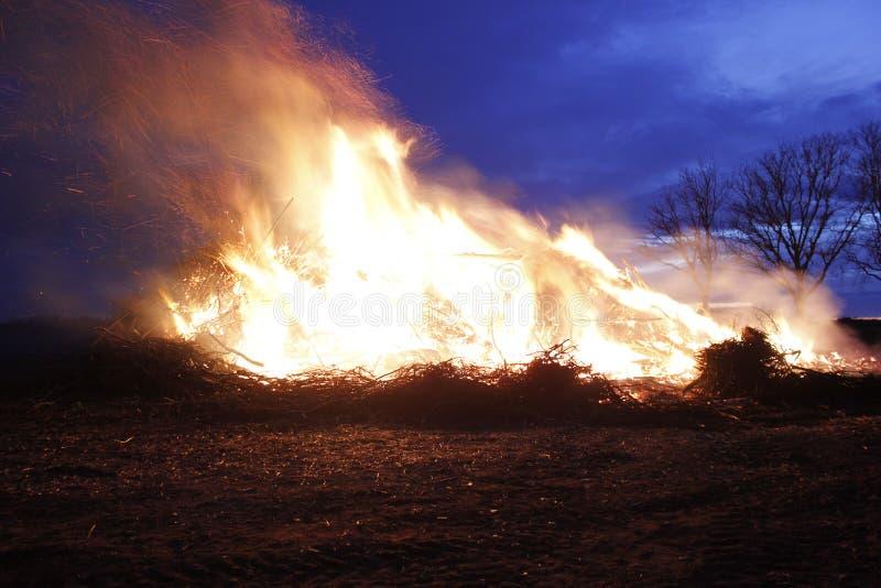 Easterfire stock photo