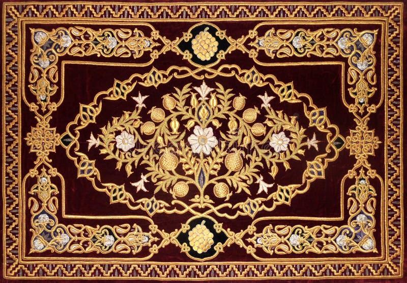 Islamic decorative pattern stock photos