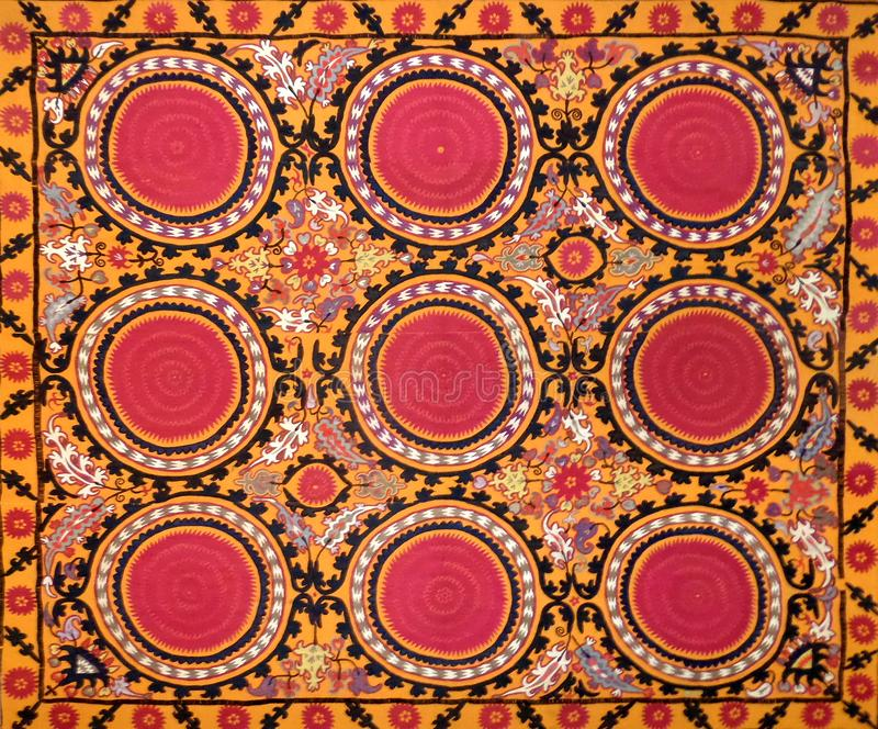 Eastern arabic decorative embroidery pattern royalty free stock photography