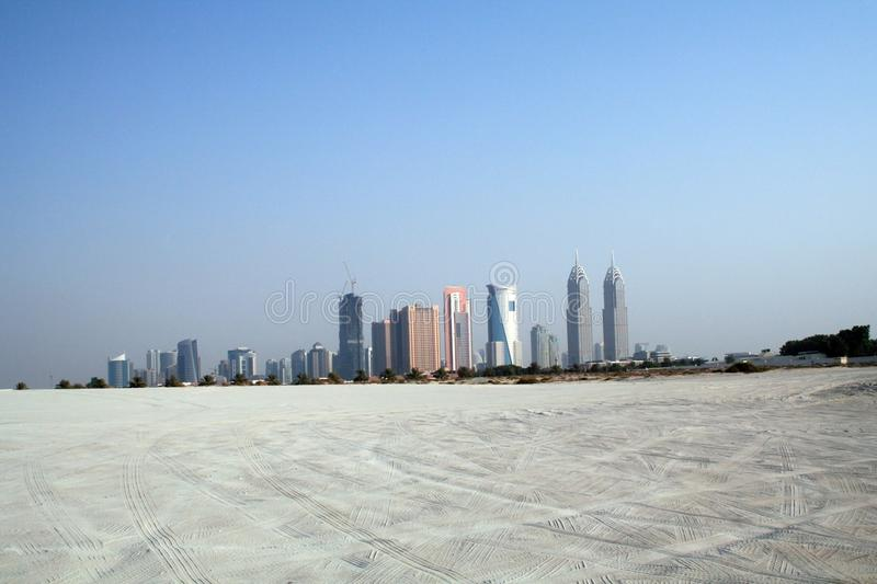 East architecture, panorama with a view of the buildings royalty free stock photo