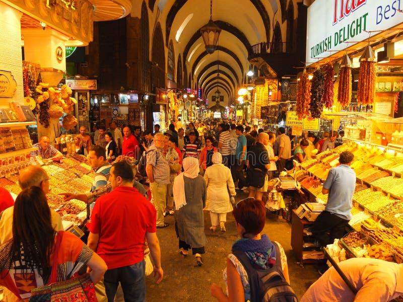 Eastern bazaar stock images
