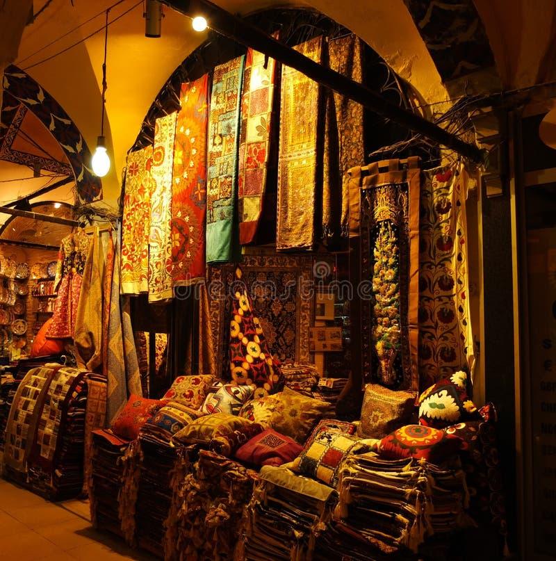 Eastern bazaar stock photo