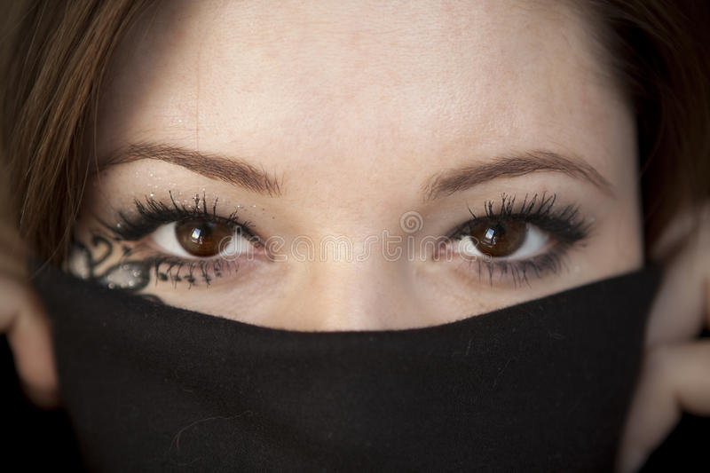 Download Eastern beautiful eyes stock photo. Image of puzzle, face - 16473976