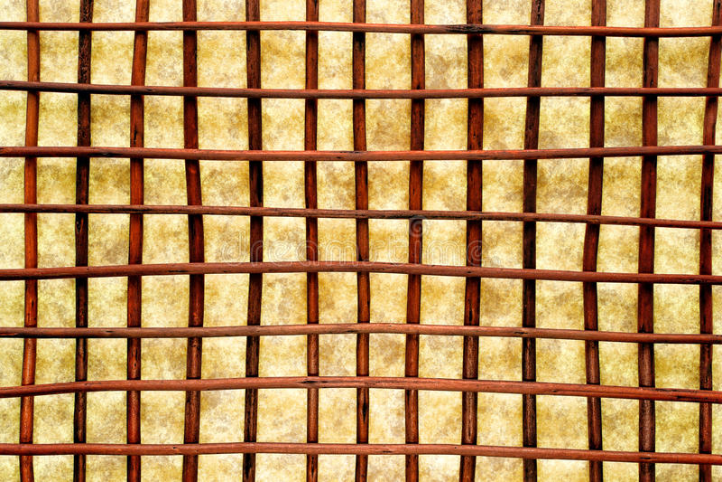 Eastern Decor Crisscross Grid Lattice Background Royalty Free Stock Photography