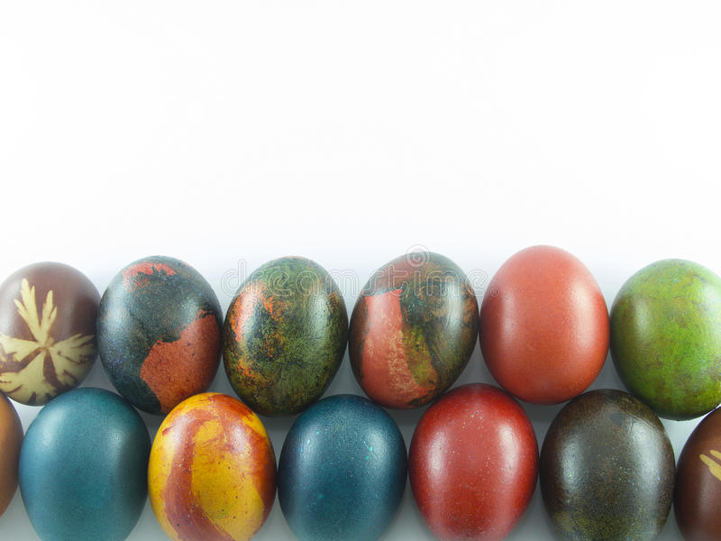 Eastern eggs stock image