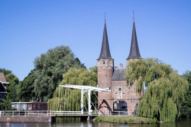 The Oostpoort royalty free stock photos