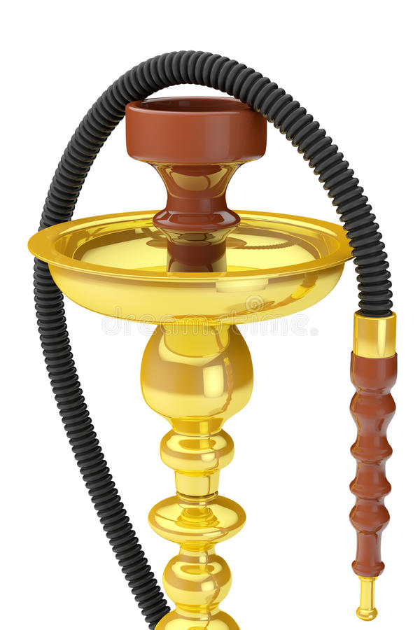 Eastern Glass Hookah vector illustration