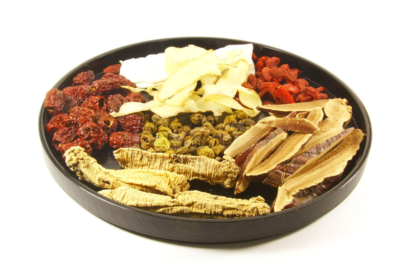 Eastern Holistic Medicine Alternatives. For Increasing Your Health royalty free stock photo