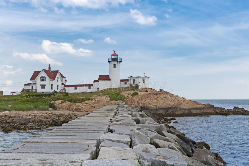 Download Eastern Point Lighthouse Compound Stock Photo - Image: 33136920