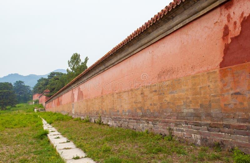 Eastern Qing Mausoleums scenery- Yu Mausoleum(Qian Long). Eastern Qing Mausoleums is one of the last dynasty Mausoleum area in China stock photo