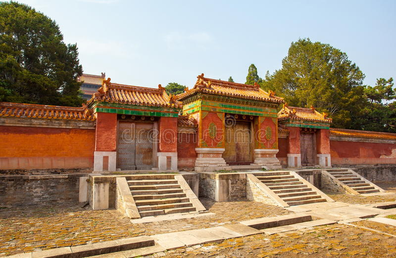 Eastern Qing Mausoleums -Xiao Mausoleum(Shun zhi). Eastern Qing Mausoleums is one of the last dynasty Mausoleum area in China royalty free stock photo