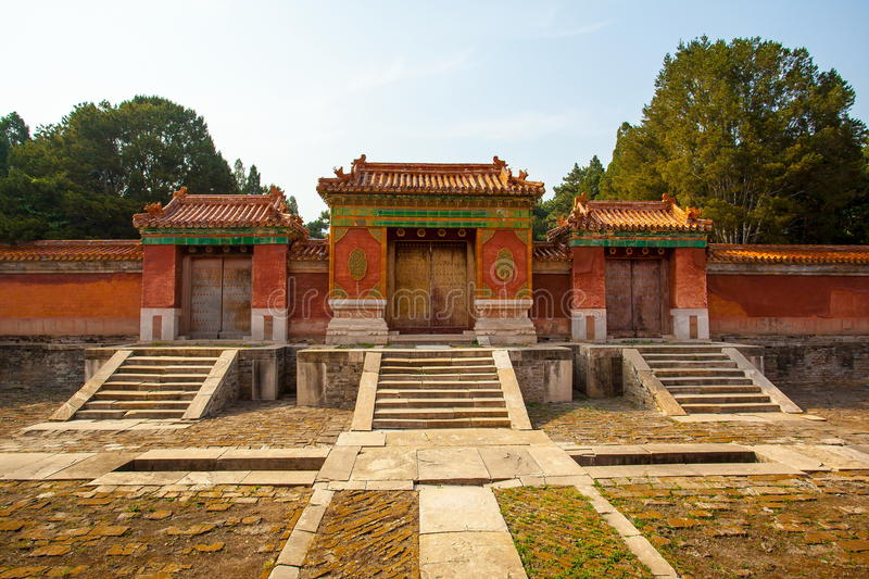 Eastern Qing Mausoleums -Xiao Mausoleum(Shun zhi). Eastern Qing Mausoleums is one of the last dynasty Mausoleum area in China stock photos