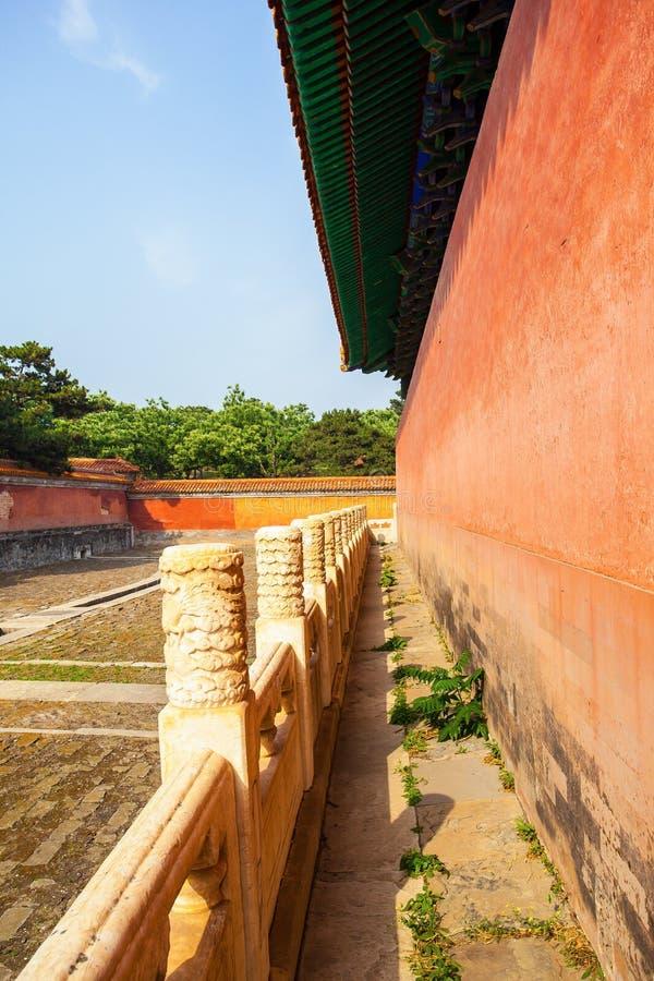 Eastern Qing Mausoleums -Xiao Mausoleum(Shun zhi) stock image