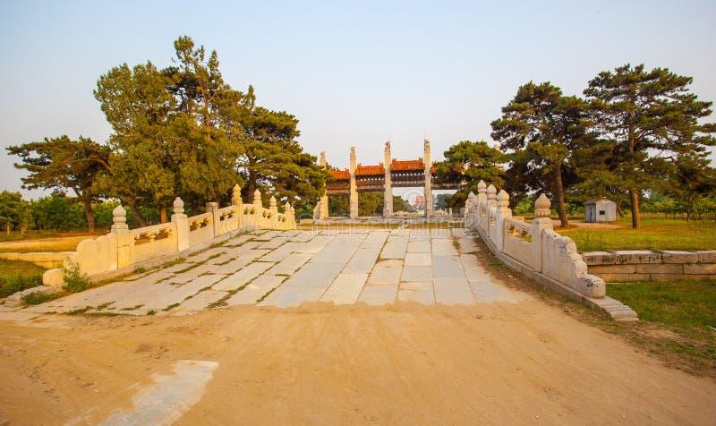 Eastern Qing Mausoleums -Xiao Mausoleum(Shun zhi) royalty free stock photo
