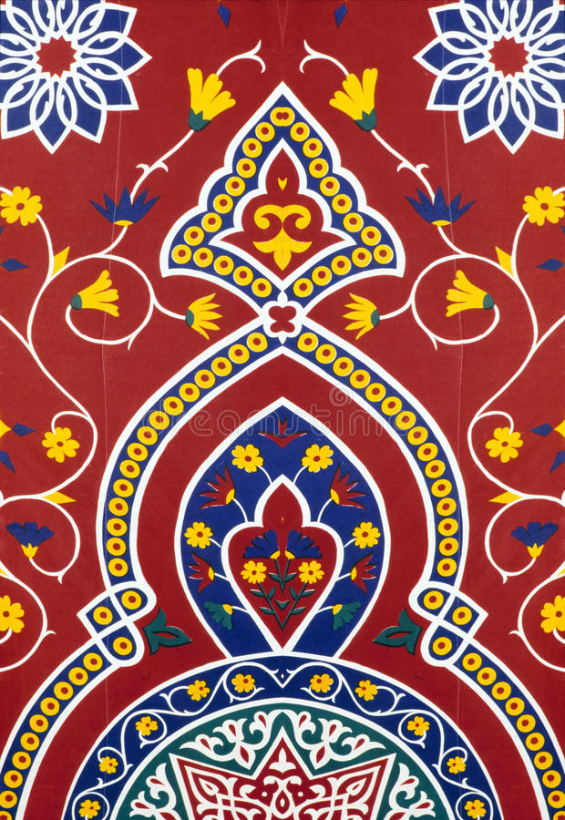 Download Eastern Red Fabric Royalty Free Stock Photography - Image: 25737687