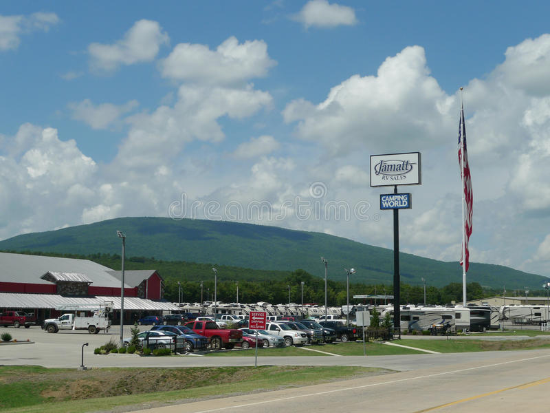 Jamatt RV Sales, Camping World, Poteau, OK. On the eastern side of Oklahoma, this family owned business in Poteau, OK offers recreational vehicles and camping stock images