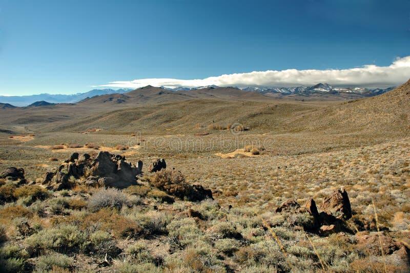 Eastern Sierra Desert stock photos