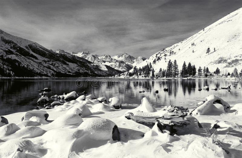 Download Eastern Sierra Winter Scene Stock Image - Image: 25444381