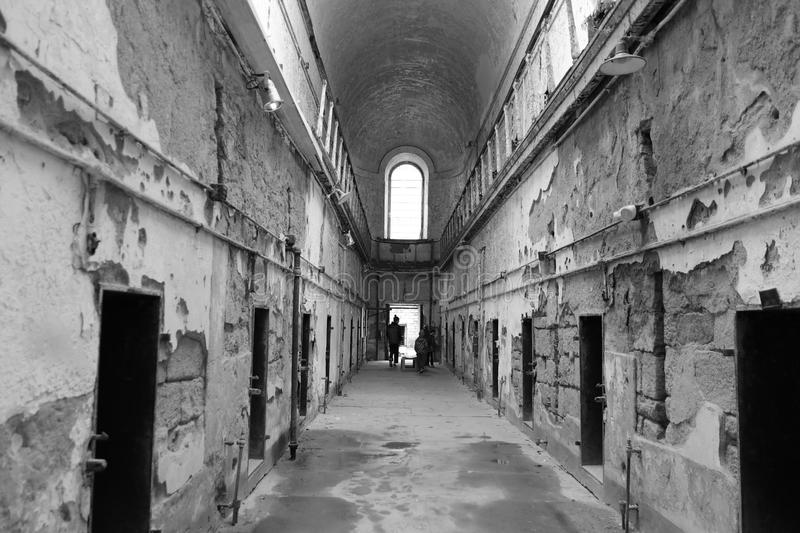 Old Penitentiary in Philadelphia,Pennsylvania stock images
