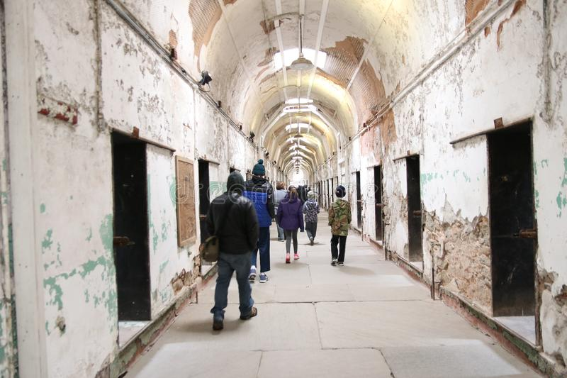 Old Penitentiary in Philadelphia,Pennsylvania royalty free stock photos
