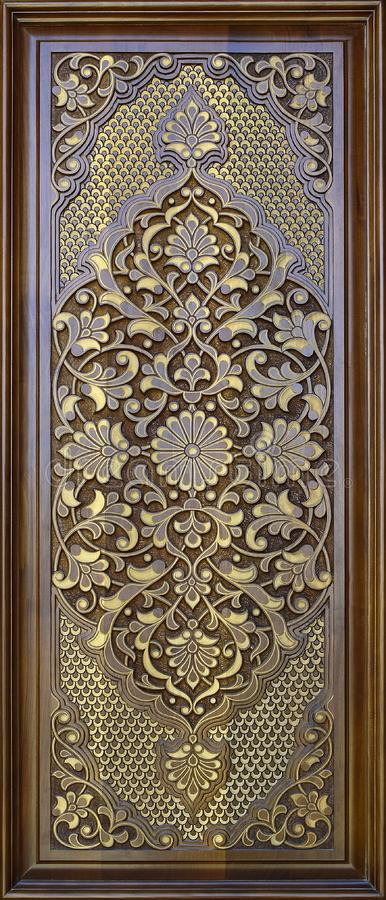 Free Eastern Wooden Carvings. Islamic  Background.East.Asia. Royalty Free Stock Photography - 162719357