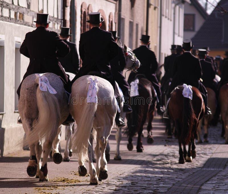 Easterrider dans Wittichenau photographie stock libre de droits