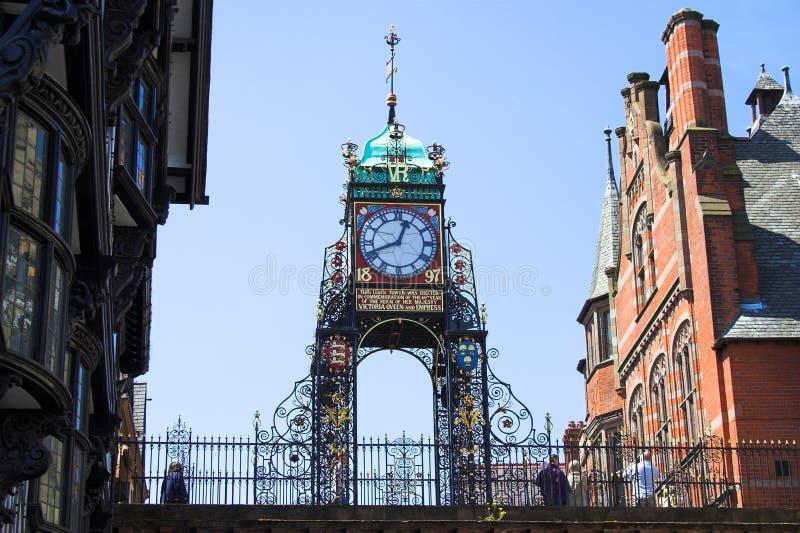 eastgate часов chester стоковые изображения