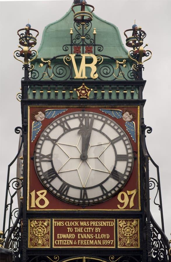eastgate часов chester стоковое фото